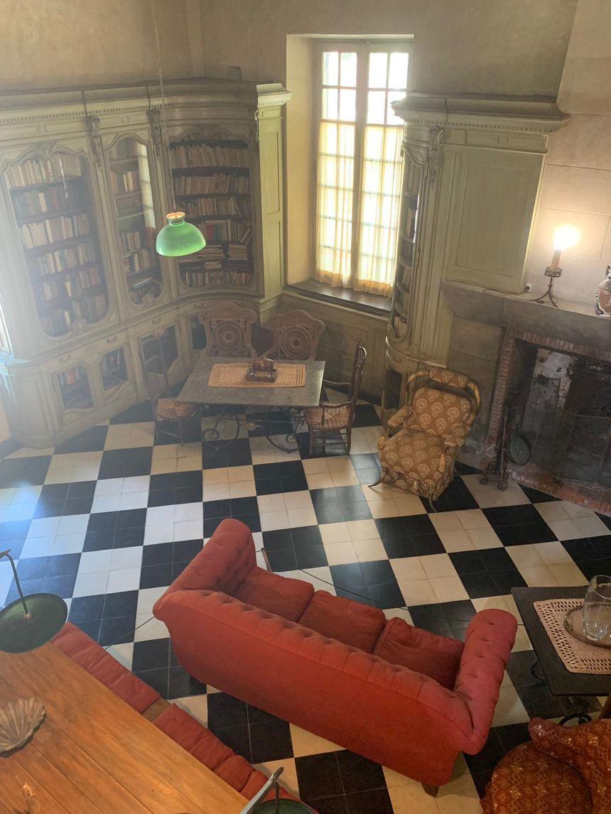 L'intérieur de la Maison Elsa Triolet Aragon