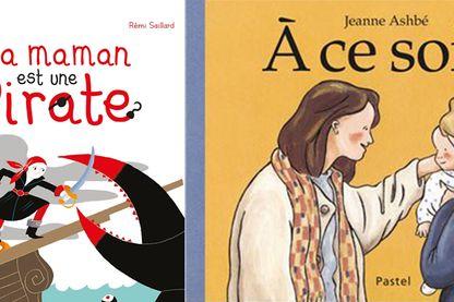 Couvertures des deux livres
