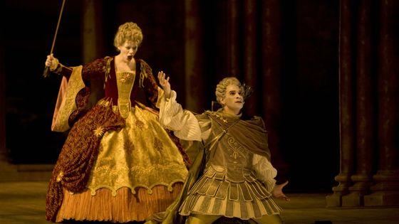Représentation d'Hippolyte et Aricie de Rameau au Théâtre du Capitole à Toulouse en 2009