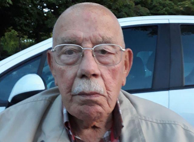 George, l'un des pensionnaires de la Maison des Invalides