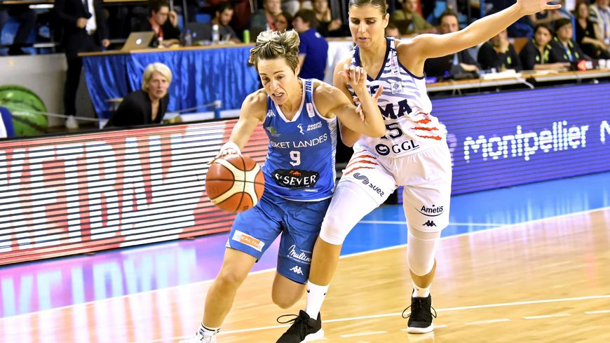 Céline Dumerc et les basketteuses landaises tenteront de faire mieux que les 16 ème de finale d'Eurocup, la saison passée