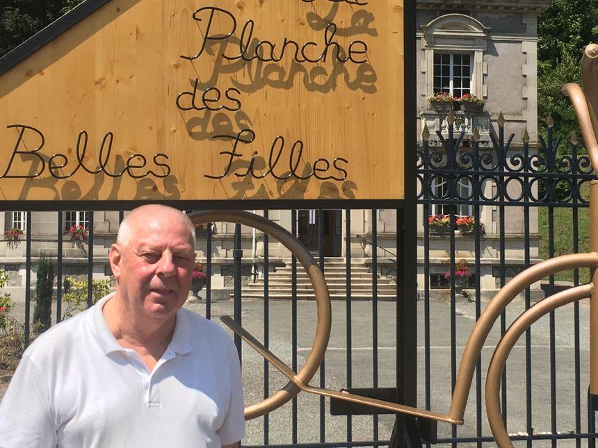 """Michel Galmiche, maire de Plancher-les-Mines, parle d'un """"coup de boost"""" pour la vallée avec l'arrivée à la Planche des Belles Filles"""