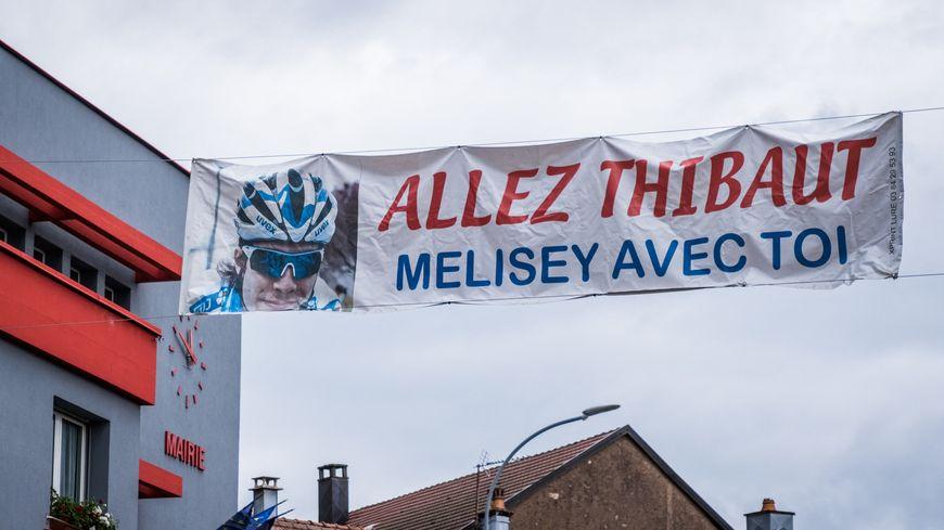 Melisey remercie l'enfant du pays Thibaut Pinot pour ce qu'il a offert dans le Tour de France avant son abandon sur blessure.