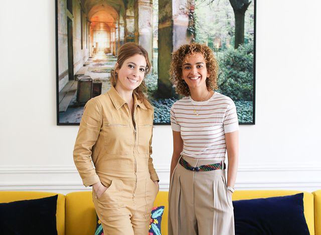 Léa Salamé et Leïla Slimani