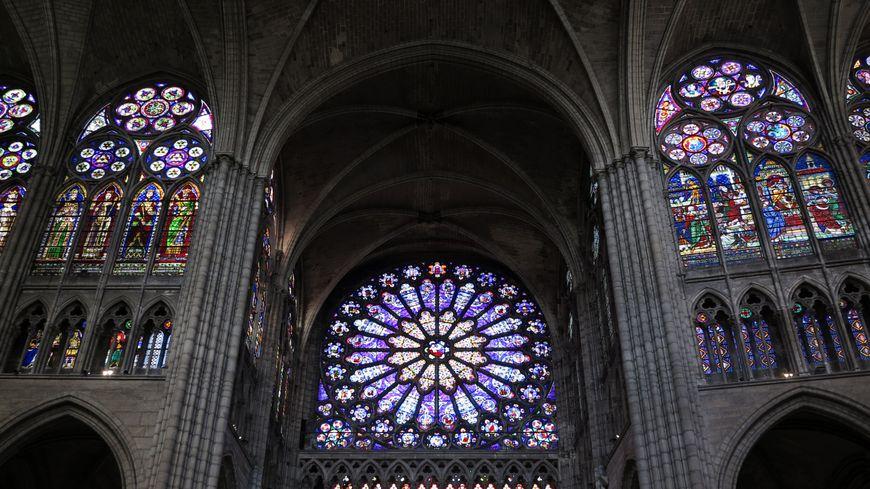 Vitraux de la Basilique Saint-Denis