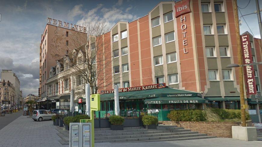 Les hôtels près de la gare de Chateaucreux ont affiché complets pendant le Tour de France.