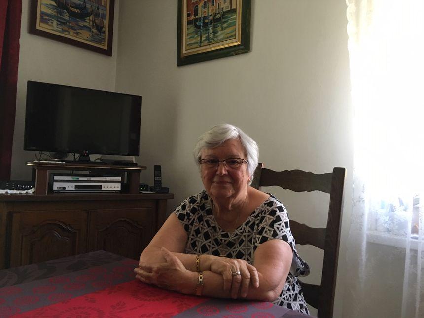 Huguette Scher, une habitante de Saint-Avold, a bien connu, enfant, l'étang d'Oderfang