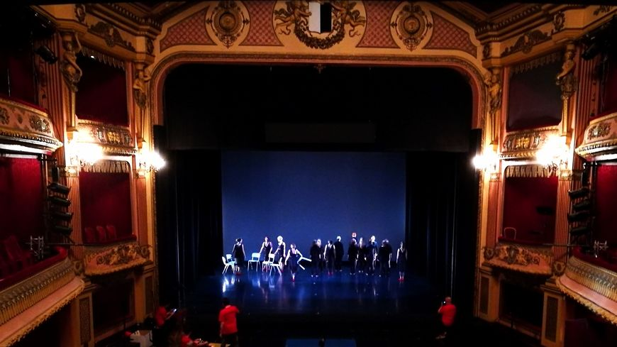La scène de l'Opéra-théâtre de Metz-Métropole