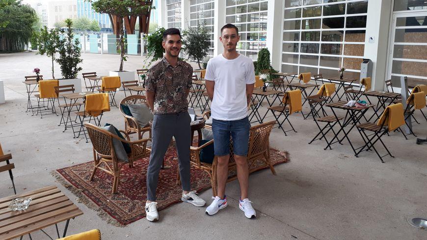 Florian et Alexis vous attendent dès 9 heures, tous les jours sauf le mardi.