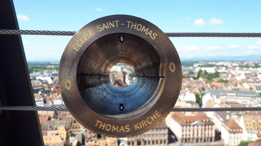 Des œilletons ciblent les principaux lieux de Strasbourg et ses alentours.