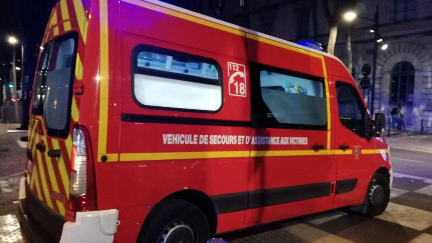 Une ambulance de pompiers (photo d'illustration)