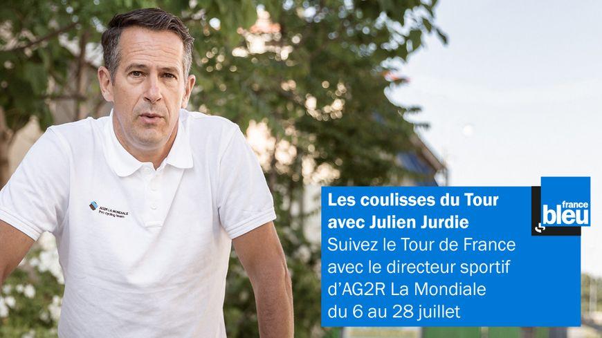 Julien Jurdie, directeur sportif de l'équipe cycliste AG2R La Mondiale analyse les étapes du Tour 2019 sur France Bleu
