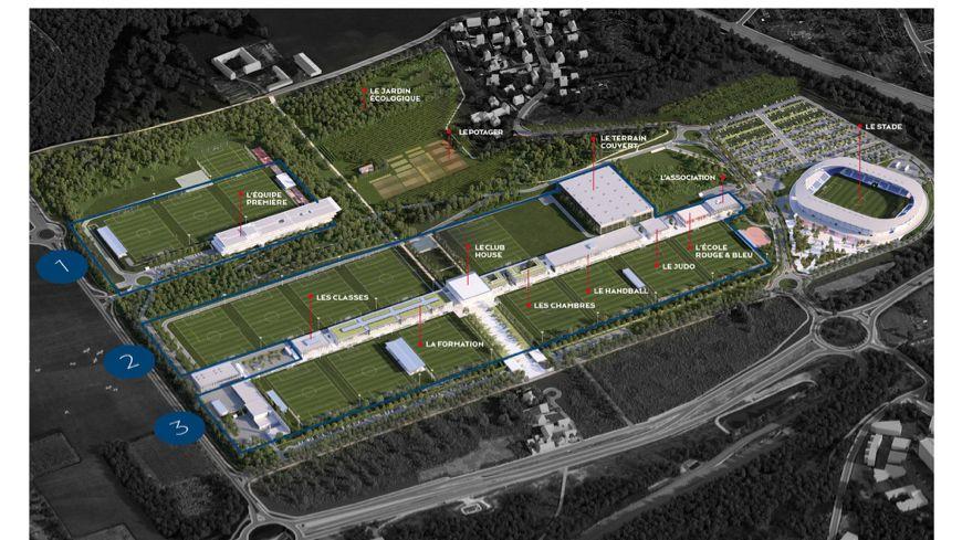 Le futur centre d'entrainement du PSG à Poissy