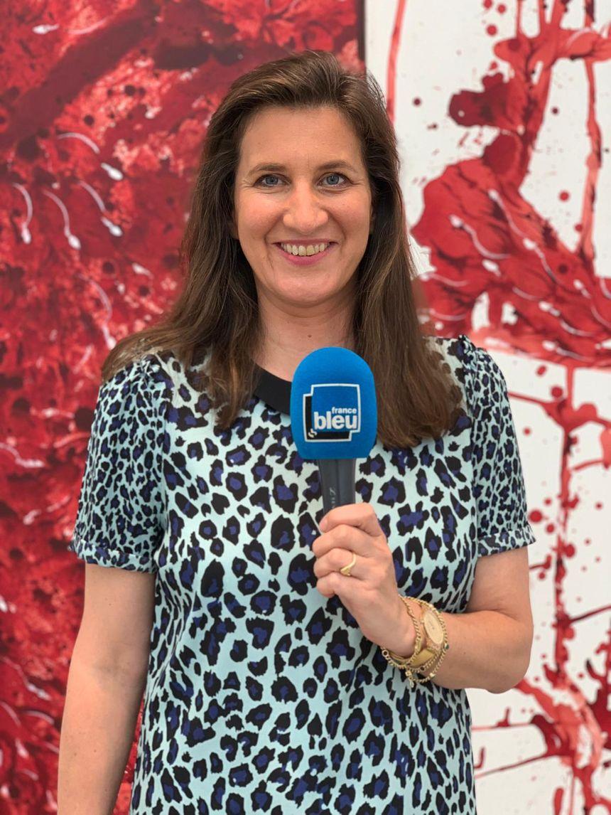 Xenia Geroulanos, directrice de la Galerie Thaddaeus Ropac
