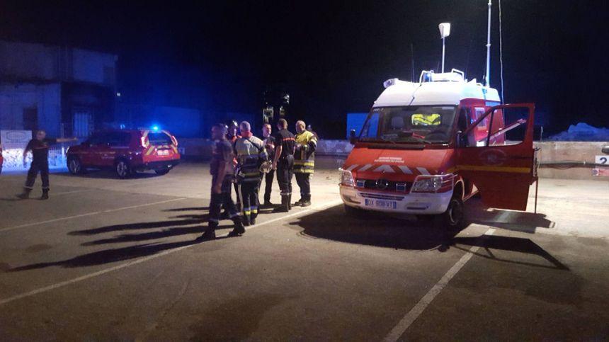 Les sapeurs pompiers ont été alertés vers 23h30