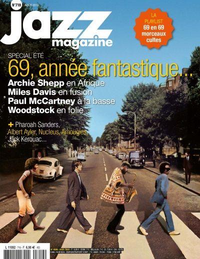 Couverture du dernier numéro de Jazz Magazine