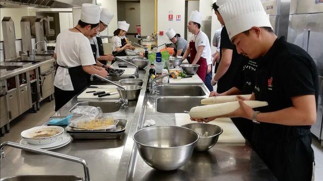 Les étudiants Chinois en pleine formation au CFA d'Orléans
