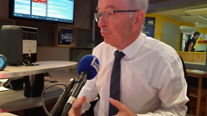 François Bonneau, président de la Région Centre Val-de-Loire