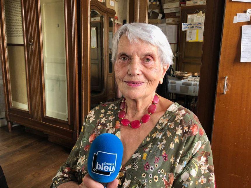 Mizou Baumgartner - Présidente d'honneur du Musée Palaisien du Hurepoix