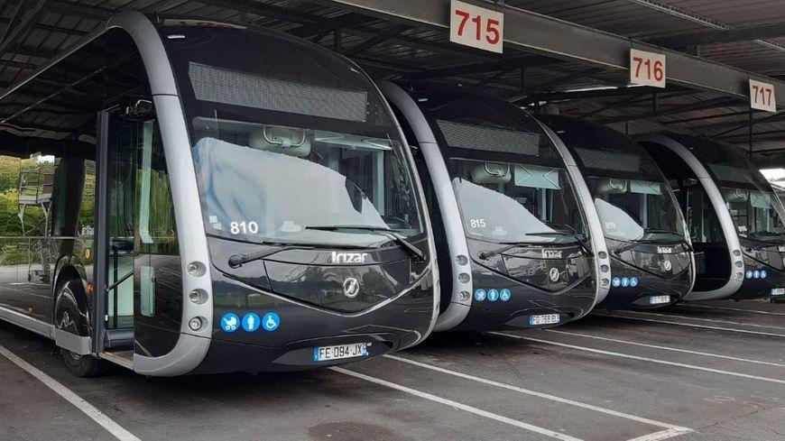 Les Tram'bus au siège Chronoplus