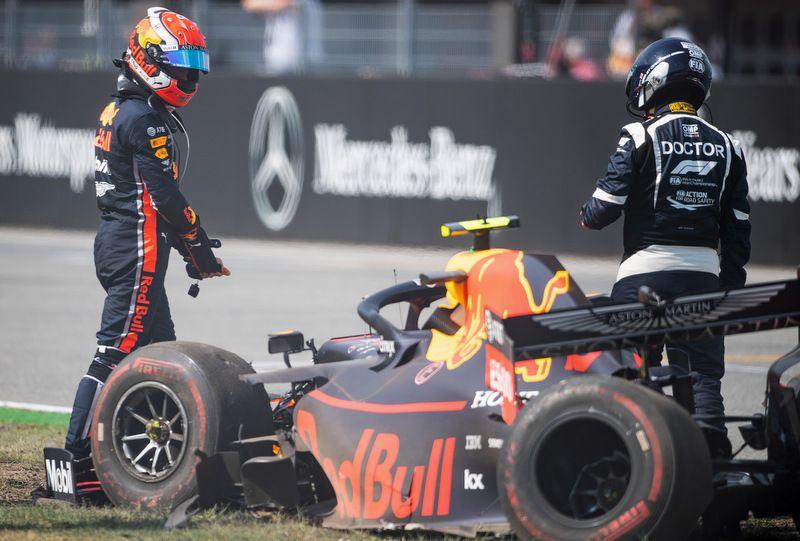 Aucun abandon pour Verstappen, deux pour Gasly ce qui descend sa moyenne à 5 points/course depuis le début de la saison