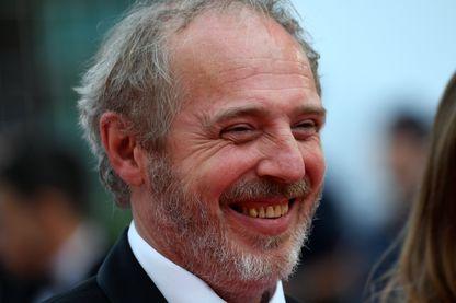 """Le cinéaste Arnaud Desplechin à Cannes, au Festival, pour la projection de son film """"Roubaix, une lumière"""" le 22 mai 2019."""
