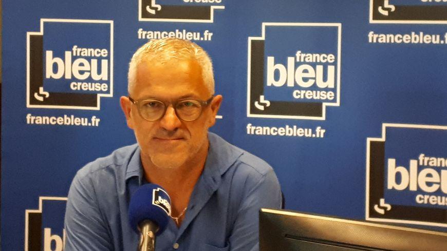 Eric Corréia, le président de l'agglo du Grand Guéret