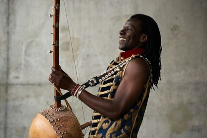 Bachir Sanogo, musicien auteur-compositeur interprète.