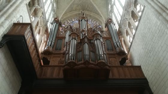 L'orgue de la cathédrale de Tours