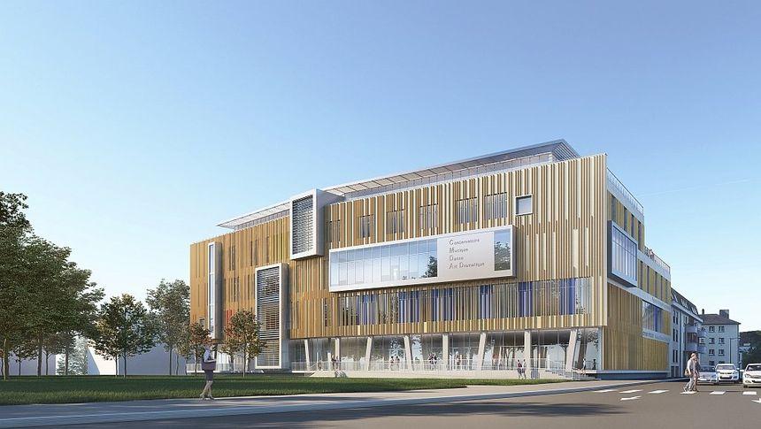 L'établissement prendra place en 2022 sur le site des Blancheries (photo du projet)
