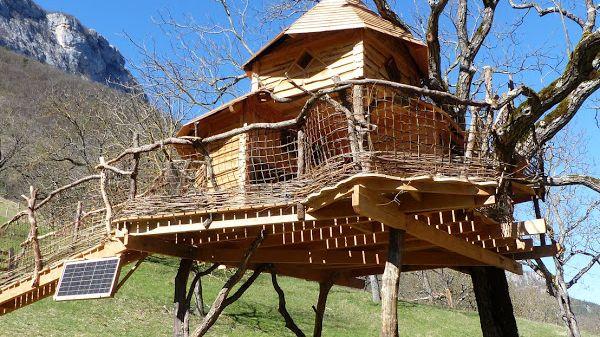 La cabane écologique d'Echevis