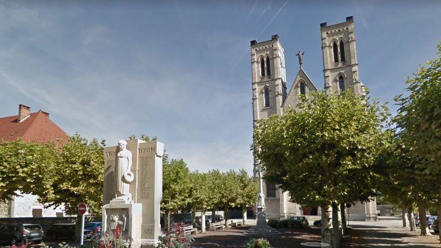 L'église où seront célébrées les obsèques
