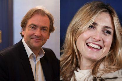 Didier Van Cauwelaert et Julie Gayet