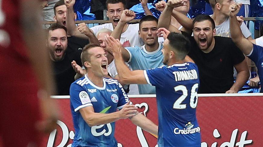 Dimitri Liénard a adressé une passe décisive à Adrien Thomasson lors de l'ouverture de la Ligue 1 face à Metz