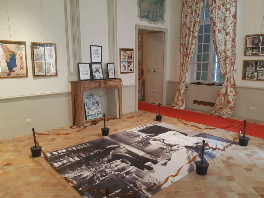 Une salle bien sûr dédiée à la trilogie marseillaise
