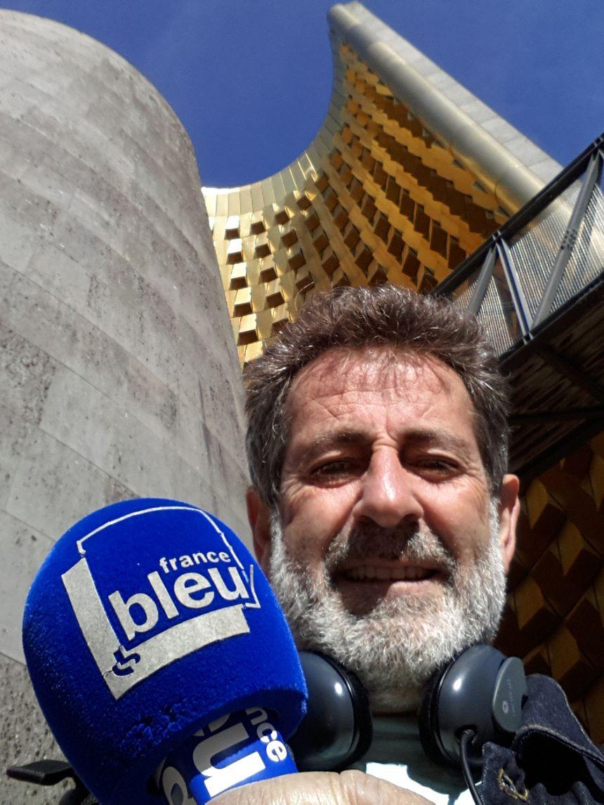Jean-François Pujante, notre Baladeur en exploration à Vulcania
