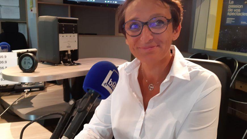 Sabine Guillien-Heinrich, présidente du club de handball féminin de Fleury-les-Aubrais