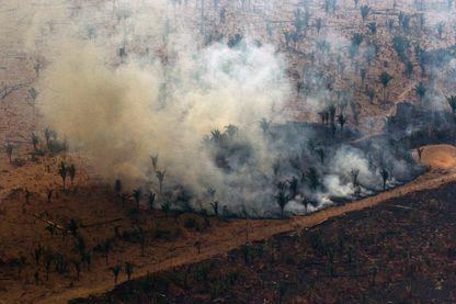 Amazonie, la déforestation par le feu