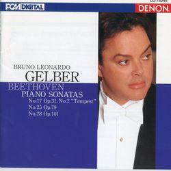 Sonate pour piano n°17 en ré min op 31 n°2 (La tempête) : 3. Allegretto - BRUNO LEONARDO GELBER