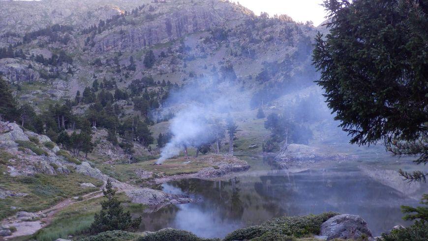 Jusqu'à1500 personnes certains jours au Lac Achard près de Chamrousse