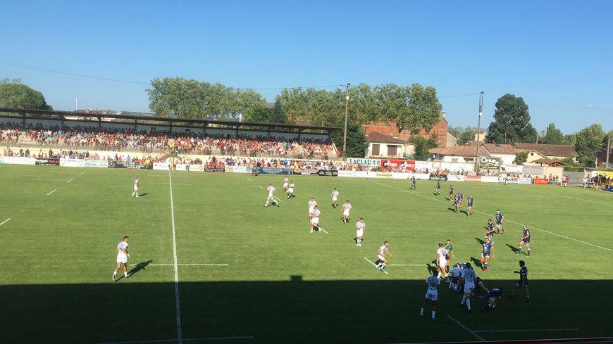 Un stade de Gaillac à guichets fermés accueille le premier match de la saison du Stade Toulousain et de l'U.S. Colomiers.