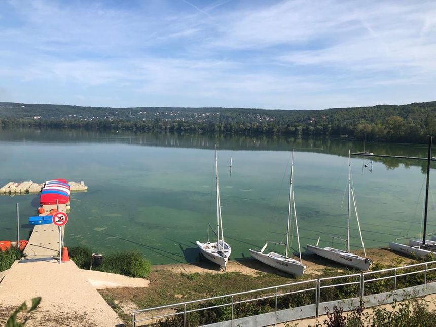 Le parc nautique de l'Île-de-Loisirs Val de Seine