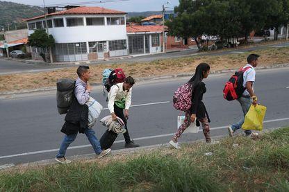 A la frontière entre l'Equateur et le Venezuela