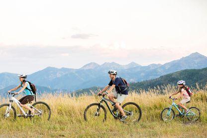 L'aventure à vélo et en famille