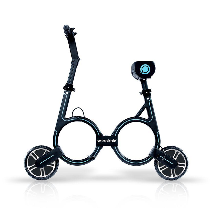 Un vélo sans pédale mais avec un moteur électrique