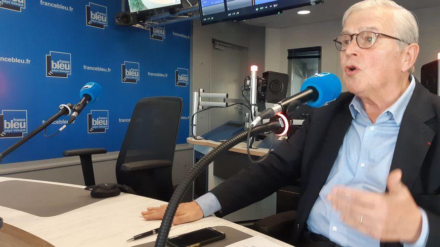Michel Veunac, maire de Biarritz (Pyrénées-Atlantiques), invité de France Bleu Pays Basque