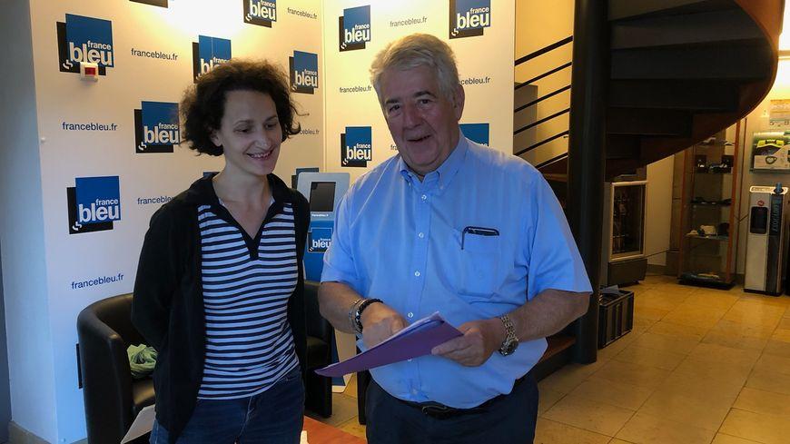 Le maire de Besançon Jean-Louis Fousseret, reçu pour sa rentrée politique ce mercredi matin par Marie-Coralie Fournier dans les locaux de France Bleu Besançon.