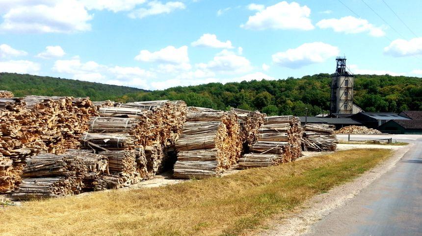 18 000 tonnes de bois sèchent sur le site Bordet de Leuglay