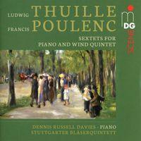 Sextuor pour piano et quintette à vent en Si bémol Maj op 6 : 1. Allegro moderato