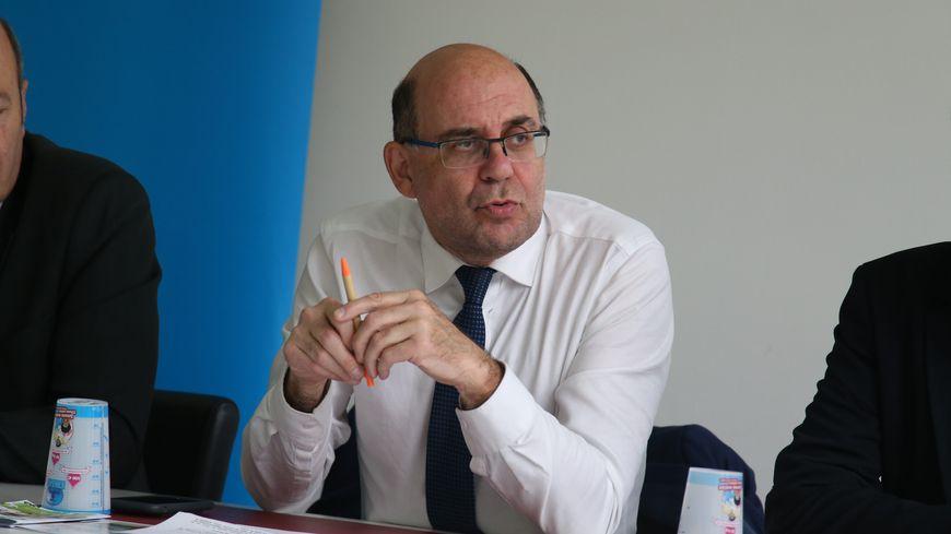 Michel Liebgott, le maire de Fameck depuis 1989